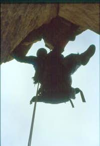 Rappelling the route