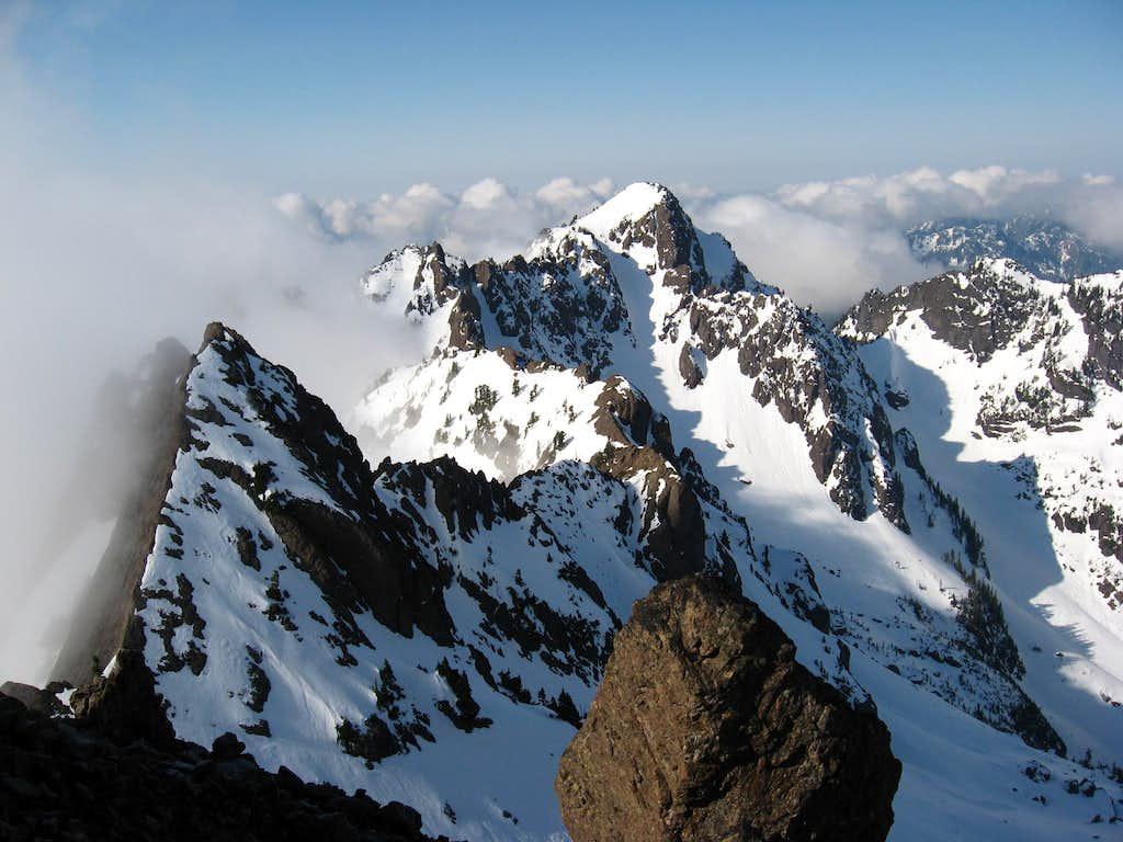 Ellinor viewed from Mt. Washington's ridge