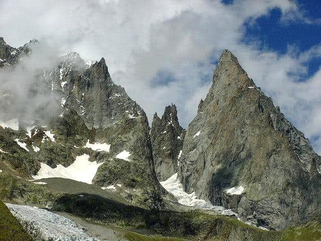 Peuterey big ridge