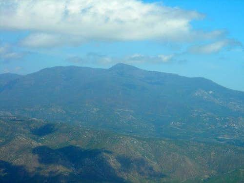 View Northeast From Viejas Mtn