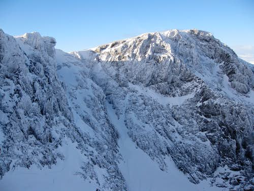 No.4 Gully descending Ben Nevis\'s North Side