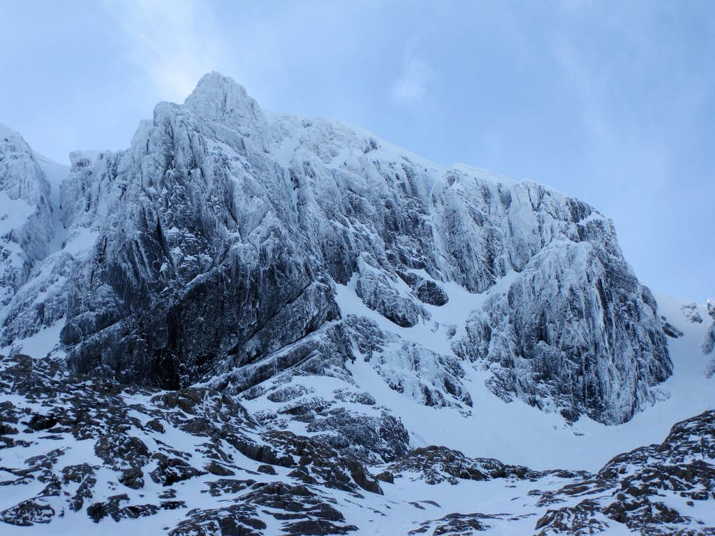 Ben Nevis's No.3 Gully Buttress