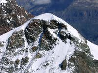 Pollux from the summit of Castor
