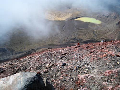 Climbing Ngauruhoe II