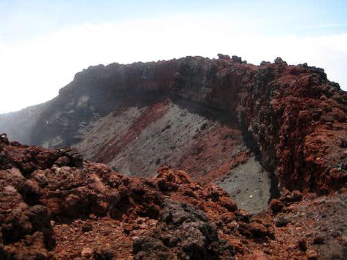 Ngauruhoe Summit Crater Rim - SW Side