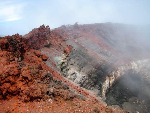 Ngauruhoe Summit Crater Rim - SE Side