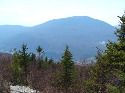 Dorset Mountain as seen from Baker Peak