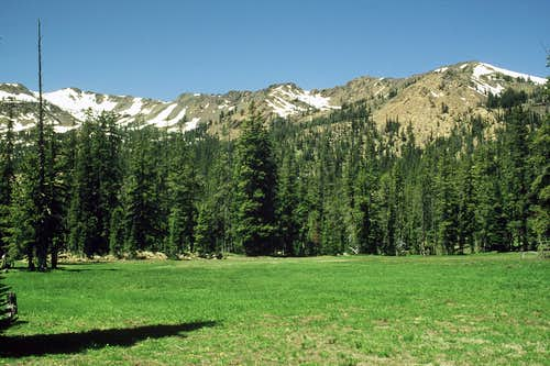 Meadows below Navaho Pass