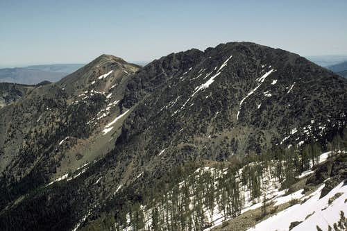 Three Brothers from Navaho Peak