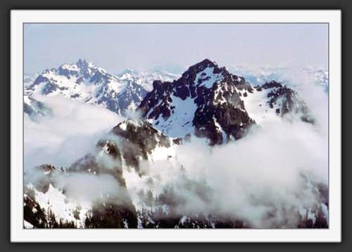 Mt Pershing from summit of Mt...