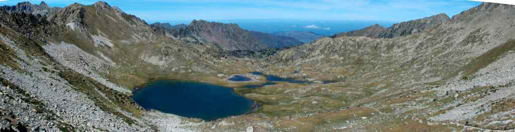 lake of the Hourquette, and the valley of Campana de Cloutou