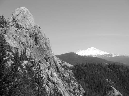 Castle Dome and Mt. Shasta....
