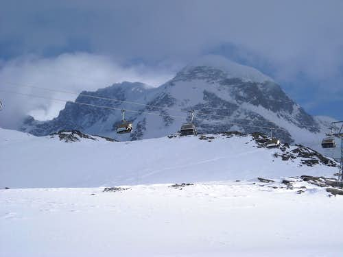 Breithorn North Face, winter