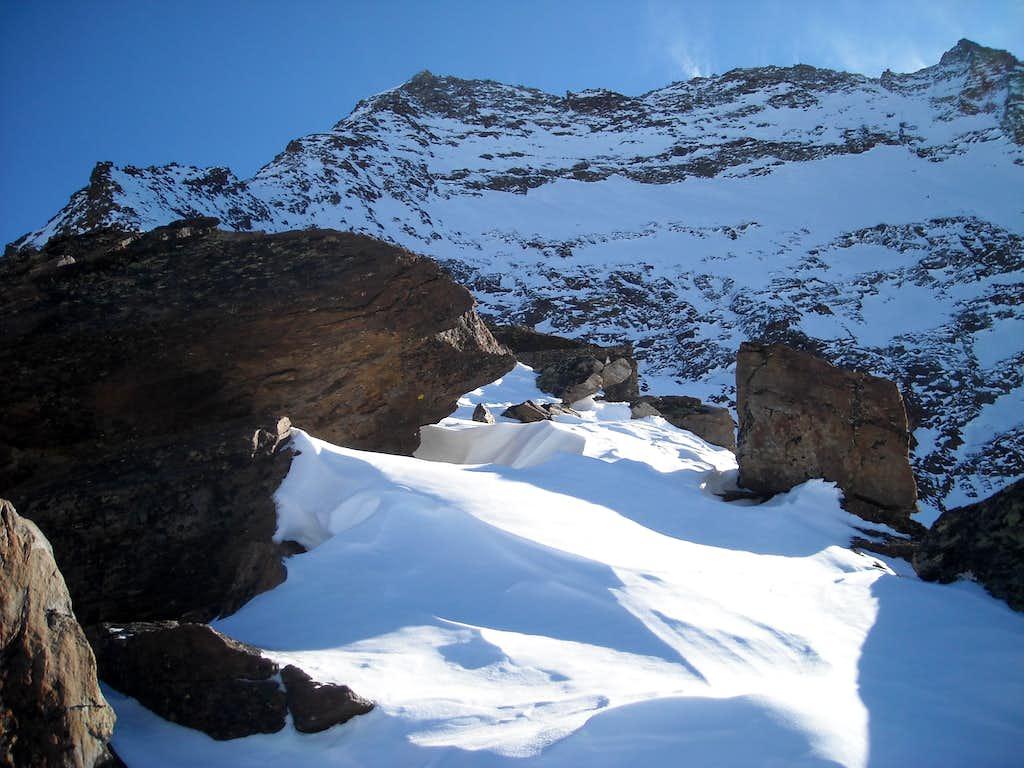 Winter solo ascent of Lagginhorn