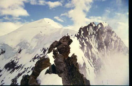 Weissmies north ridge, July 31