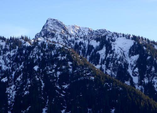 Hall Peak North Face