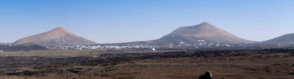 Monte Guatisea and Montaña Blanca