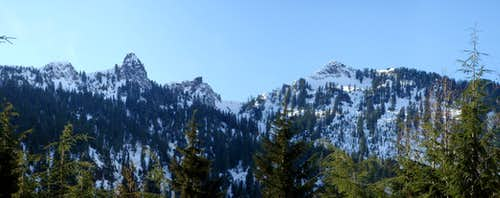 Long Mountain Panorama