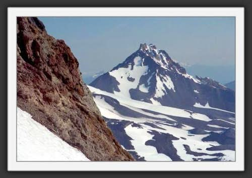 North Sister from Prouty...
