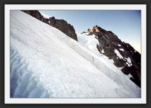Upper Curtis Glacier and...