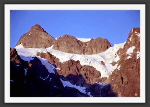 L to R: Summit Pyramid, Upper...