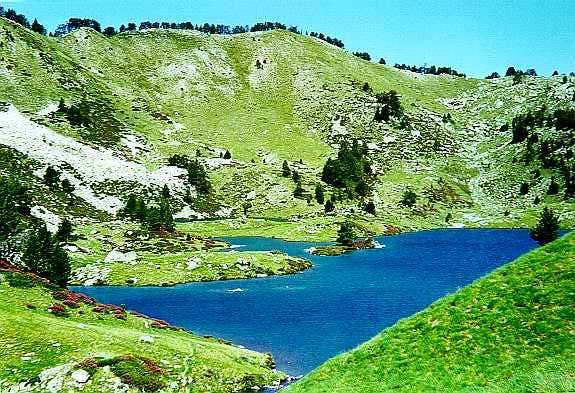 The Bastan lakes