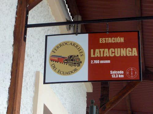 Estación Latacunga
