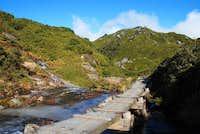 Trail with Miyanoura-dake