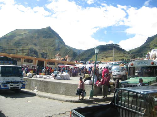 Zumbahua saturday market