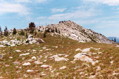 Ridgeline South of Peak 7,515