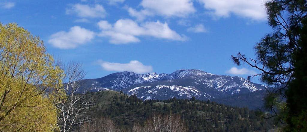 Spring Canyon Mountain
