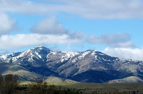 Seen from the John Day Valley