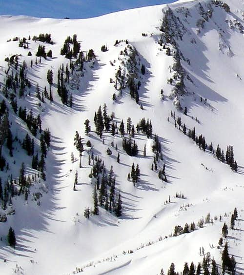 The Double Y Chutes
