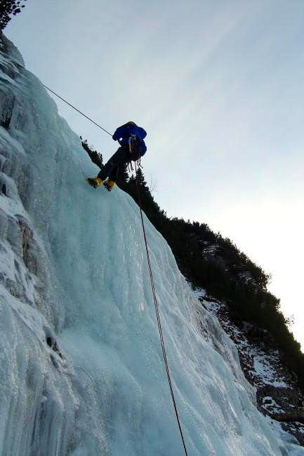 Belay of Edith on...