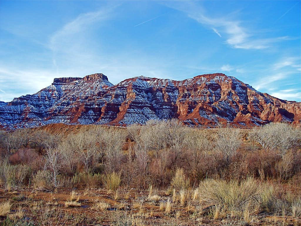 On The Way to Zion National Park