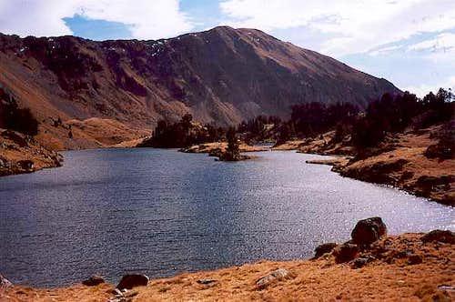 Lac Médium de Bastan