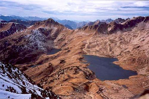 Port Bielh lake from Bastanet Pass