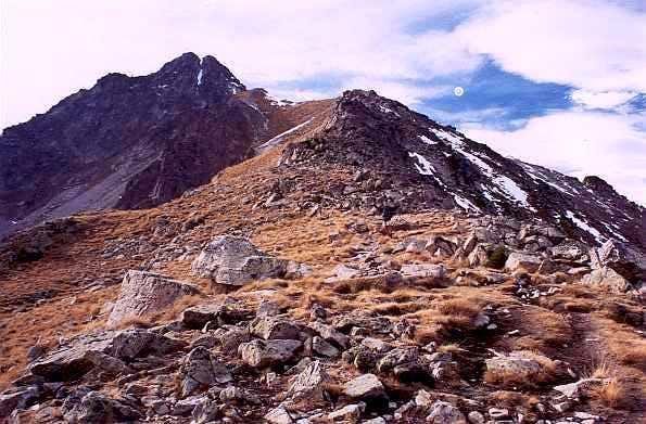 Pic de Bastan from Bastanet Pass
