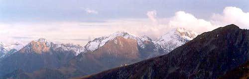 Pic de Thou & Lustou from Col de Portet