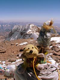 GT on Aconcagua (6,962 m/ 22,841 ft)