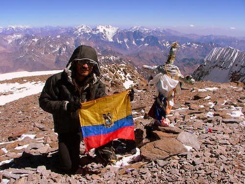Aconcagua (6,962 m/22,835 ft), Argentina