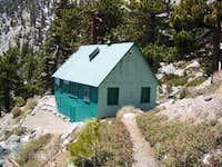 Sierra Club Hut at the base...