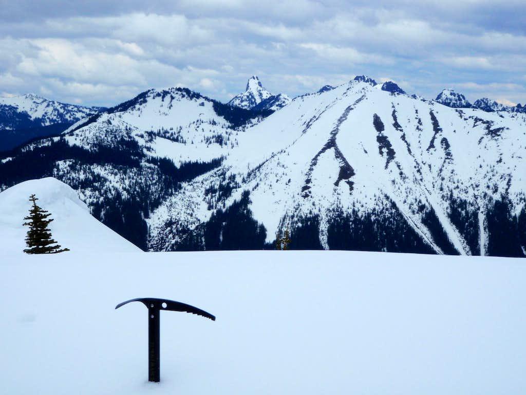 Kaleetan Peak and Granite Mountain