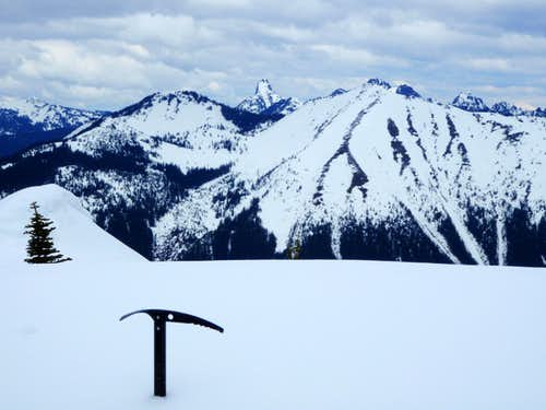 Kaleetan Peak and Granite Mountain
