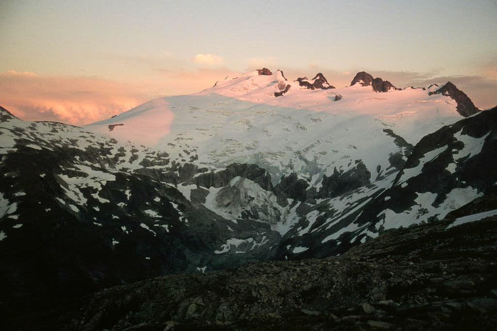 Sunset from Tapto Lakes