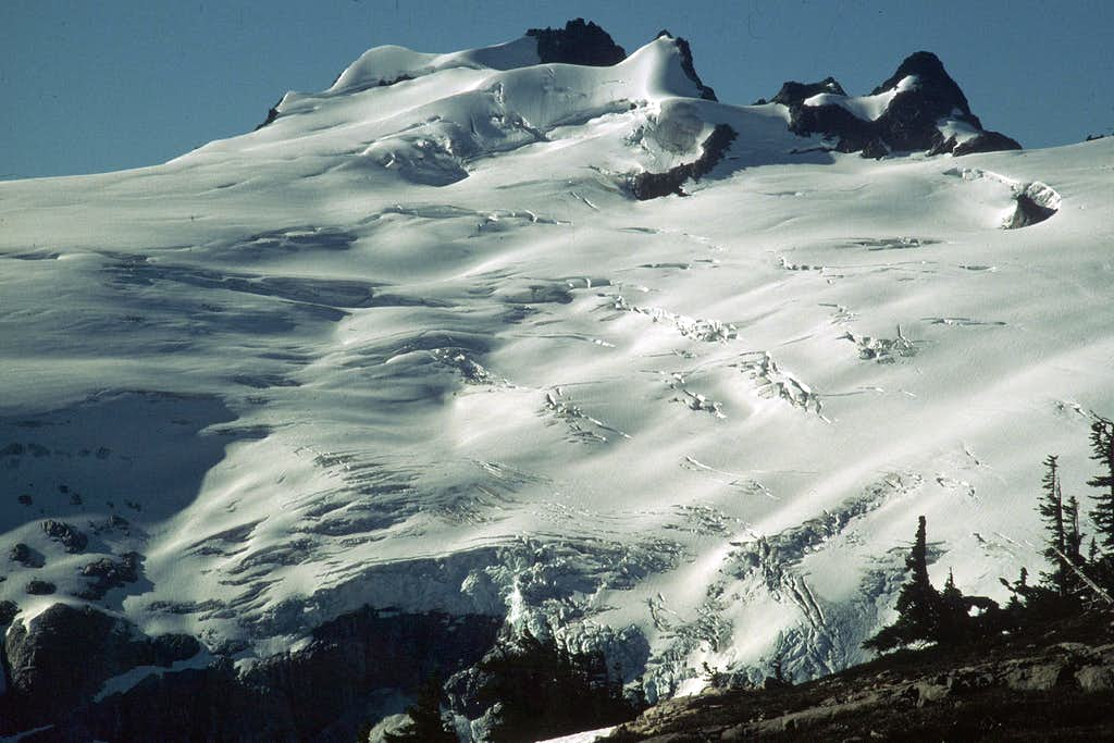 The Challenger Glacier