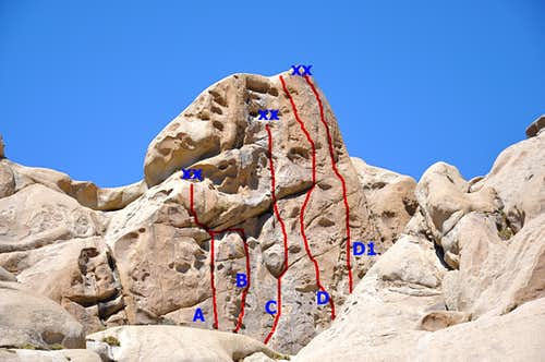 Wrangler Rock Routes