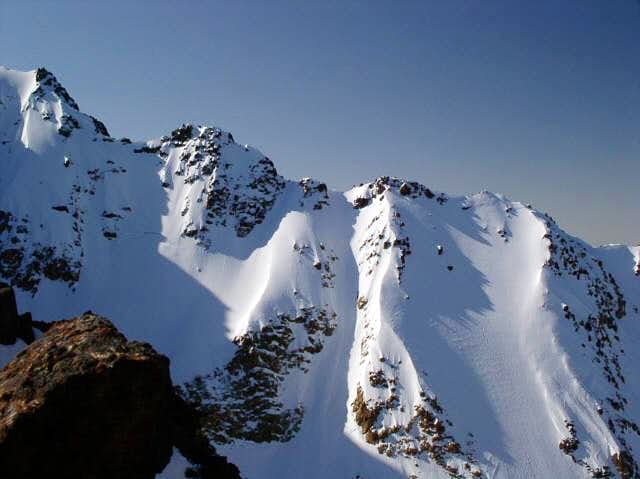 The West Ridge of South Twin...
