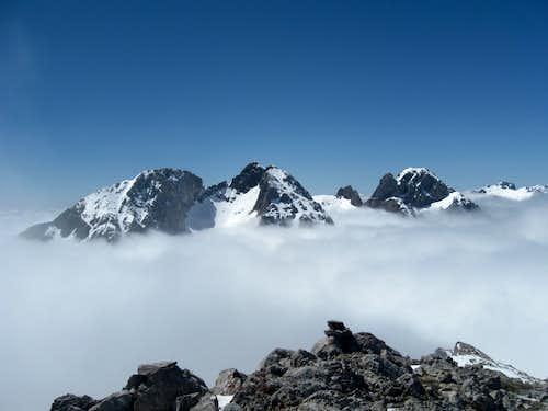 From the summit of la Padiorna