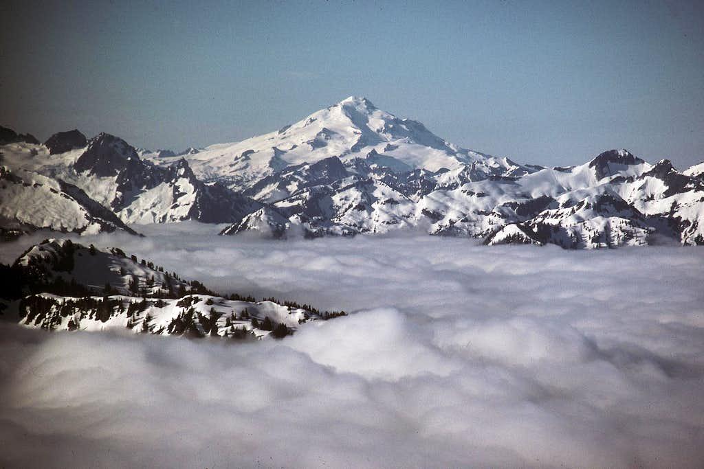 Glacier Peak from Eldorado Peak